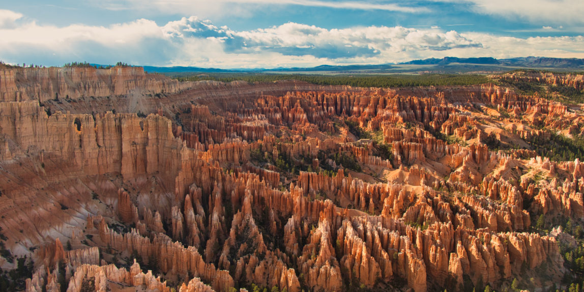 Overlook of Bryce Canyon